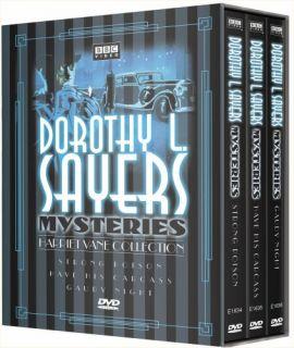 Dorothy L Sayers Mysteries Harriet Vane DVD New SEALED
