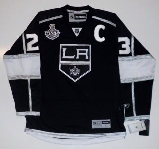 Dustin Brown 2012 Stanley Cup Los Angeles Kings Reebok Jersey Sewn on