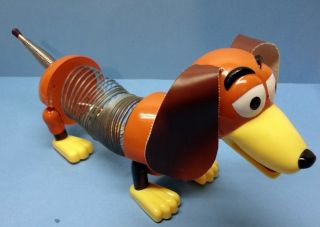 DISNEY PIXAR TOY STORY 3 MOVIE SLINKY DOG PULL TOY COLLECTABLE