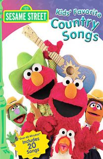 Sesame Street Kids Favorite Country Songs DVD 2007