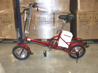 New 250W Battery Powered Portable Folding Electric Bicycle Free