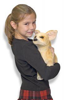 tomy yookidoo melissa and doug stuffed chihuahua dog plush new