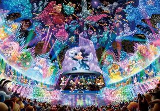 Jigsaw Puzzle D 1000 399 Disney Water Dream Concert 1000 Pieces