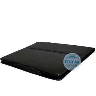 Black Universal Leather Case Protector for 9 7 eBook eReader Tablet
