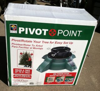New EZ Up Pivot Point Christmas Tree Stand