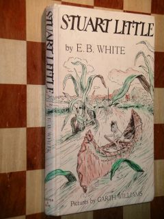 Stuart Little by E B White 1945 Collectible First Edition Harper Row