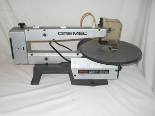 Used   Dremel   16   Scroll Saw   Model # 1671   2 Speed   Type 1