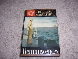Reminiscences by Douglas MacArthur First Edition