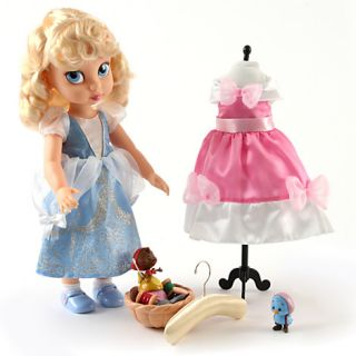Disney Cinderella Doll Gift Set with Extra Dress Top Toy 2012