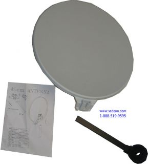SAP45 Eagle Aspen 20 Portable Antenna Dish Kit New