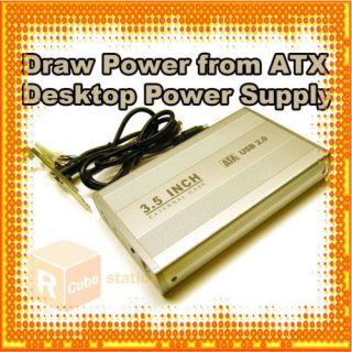 USB 3 5 SATA HDD Hard Drive External Enclosure Case S2