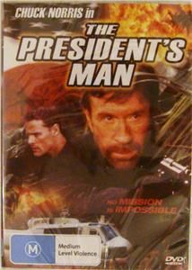 The Presidents Man Chuck Norris DVD SEALED New Movie