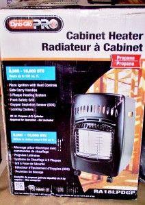Dyna Glo 18,000BTU Propane Gas Portable Cabinet Heater RA18LPDGP