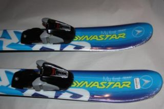 Dynastar My First Team Speed 80cm Skis with Mount Marker 450 Bindings