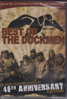 Duckmen BEST OF Part 2 Hunting DVD Duck Dynasty 40th Anniversary
