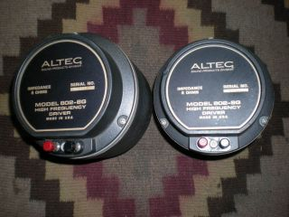 Altec 802 8g Drivers Pair Vintage Audio Theatre Studio