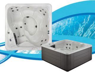 Vista hot tub Dream Maker 6 Person Acrylic Portable Spa 110v Plug