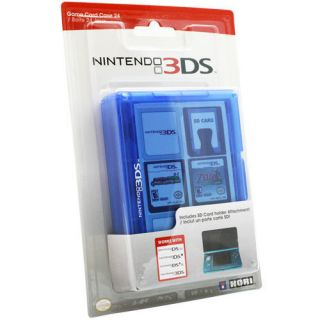 Official Nintendo 3DS Game SD Card Storage Case Blue DS DSi Lite