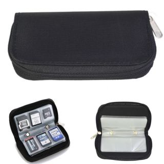 Card Storage Carrying Pouch Case Holder Wallet for CF SD SDHC MS DS