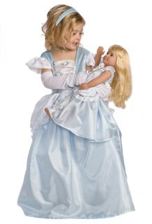 Twin Doll Girl Cinderella Princess Dress Up Costumes