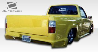 1996 2000 Toyota Tacoma Duraflex Drifter Rear Bumper Body Kit