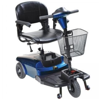Drive Medical Bobcat 3 Wheel Travel Portable Compact Mobility Power