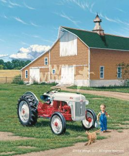 Neal Andrson LITTLE EARLS BIG 8N Ford Tractor