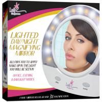 Lighted Make Up Mirror Day Night 3X 1x Magnification