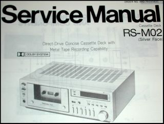 New Manuals for Hitachi ft 1 ft 1L Am FM Tuner Technics RS M02