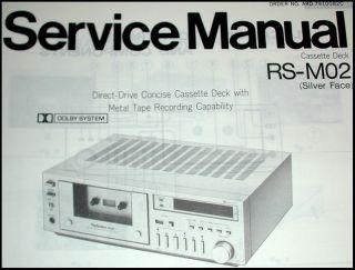 New Manuals for Hitachi ft 1 ft 1L Am FM Tuner Technics RS M02