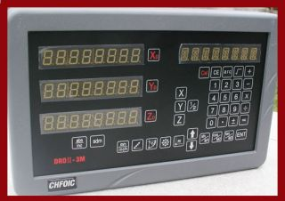 Sinpo 3 Axis Digital Readout Complete DRO Kit