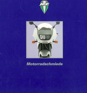 1996 MuZ MotorCycle Brochure SKORPION,Replica,Sport,Tour,RED STAR