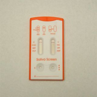 Saliva 6 Drugs Oral Screen Drug Testing Kit
