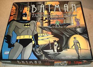 Batman The Animated Series 3 D Board Game Parker Bros