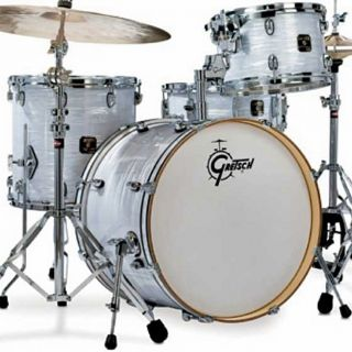 Gretsch Drums Catalina Club Jazz Retro WMP Marine Pearl 4pc Drum Set