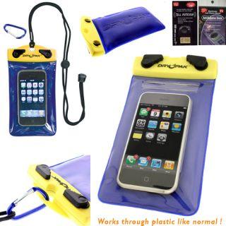 Dry Pak Swimming Waterproof Case Holder AB AR for Pantech Burst