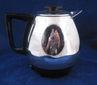 Duncan Hines Jet O Mat Model 10 10 Cup Electric Percolator Coffee Pot