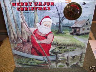 Merry Cajun Christmas II LP Michael Doucet Tee Jules Justin Wilson