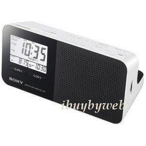 sony icf c705 am fm dual alarm clock radio new sony am fm clock radio