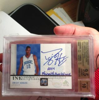 Dwight Howard 04 05 SP Signature RC Inscription BGS9.5/10 POP1!! Super