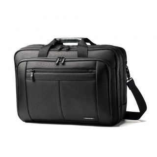 SAMSONITE PROFESSIONAL DURABLE 17 INCH LAPTOP PADDED BRIEFCASE BAG