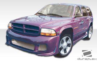 98 03 Dodge Durango 97 04 Dodge Dakota Duraflex Platinum Front Bumper