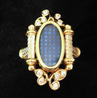 Lady of Dreams Gold Portal Ring Lucid Psychic Angel Haunted Item