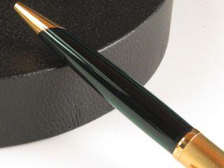 Waterman Edson Emerald Green & Gold Ballpoint Pen