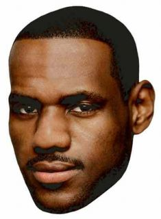 King LEBRON JAMES Miami Heat 2012 NBA CHAMPIONS   Big Head Window
