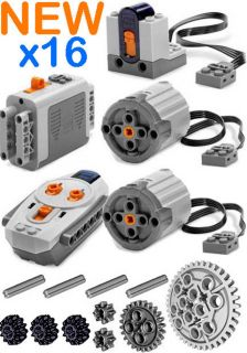 Lego Power Functions SET 3 (Technic,Motor,Receiver,Remote Control,XL