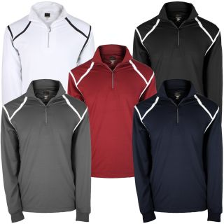Greg Norman Mens 1 4 Zip Tech Performance Pullover Golf Sweater
