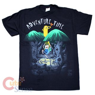 CN Adventure Time Spookey Forest Mens T Shirt 4 Size