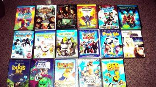KID DVD LOT - Elmo in Grouchland & Elmo's World: Happy ...  |Dreamworks Disney Dvd Collection