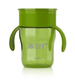 NEW Philips AVENT BPA Free Natural Drinking Cup Green 9 Ounce